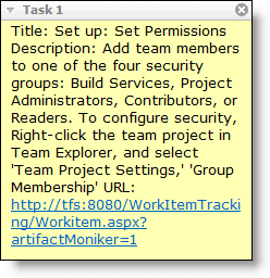 Abbildung - Anzeige eines Work Items