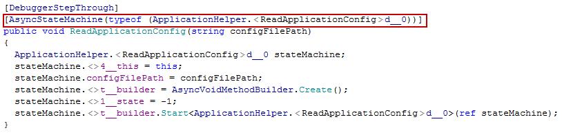 Erzeugter Intermediate Language Code