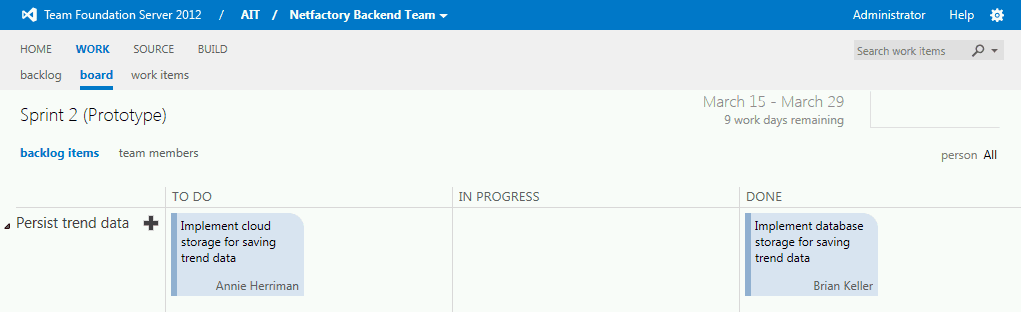 Backend Team