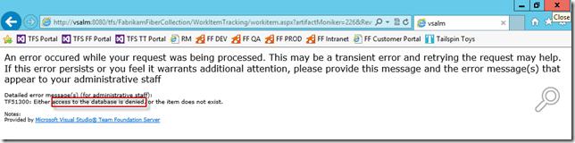 Abbildung 4: Zugriff verweigert