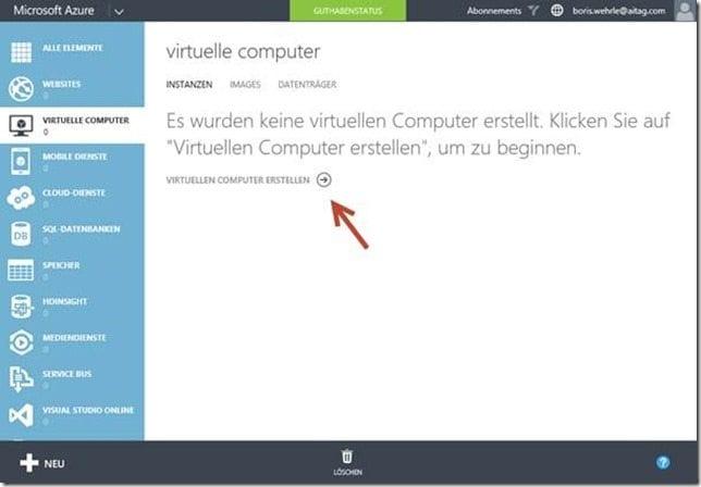 Einrichtung eines Virtuellen Computers
