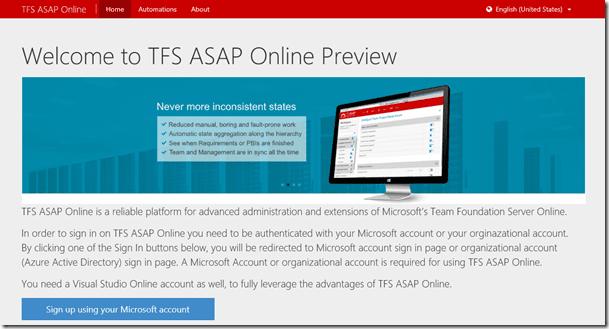 TFS ASAP Online