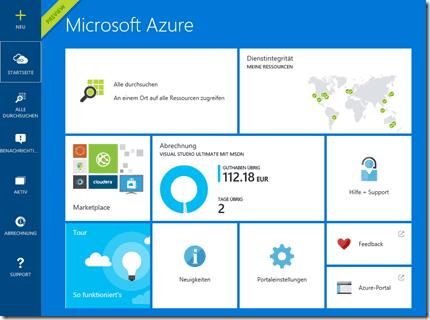 Azure Portal Preview