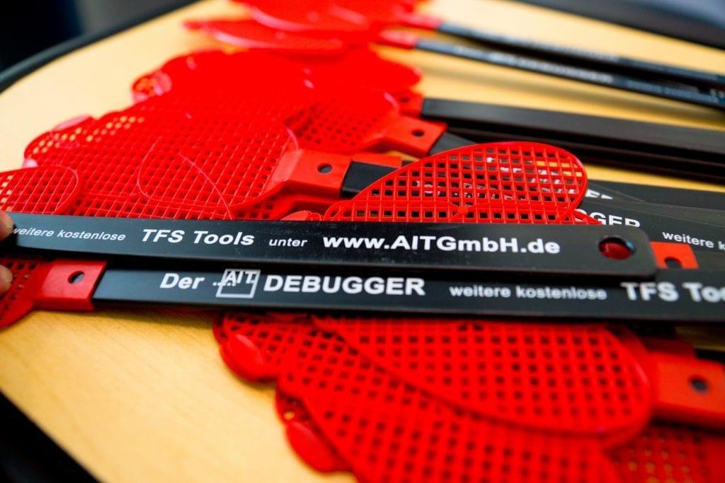 Der AIT Debugger war sehr beliebt, wir sind jetzt schon auf die Anwendungs- und Erfahrungsberichte für dieses Tool gespannt. Bitte senden sie diese an ait.vertrieb@aitgmbh.de