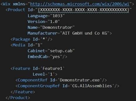 WiX Toolset Teil 1: Hilfe, Ich brauche einen Installer