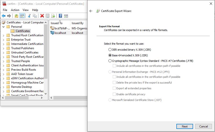 Sonarqube Mit Self Signed Certificate Unter Windows Ait Gmbh Co Kg